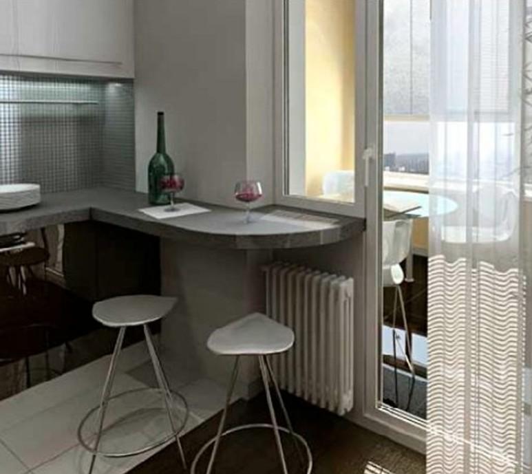Барная стойка для маленькой кухни (42 фото), стол для гостин.