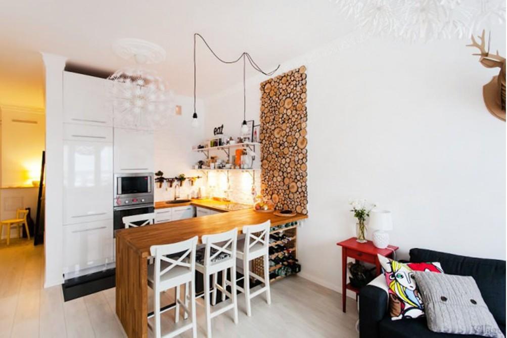 Отделка кухни варианты фото в квартире